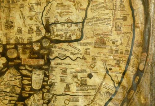 Mappa Mundi detail