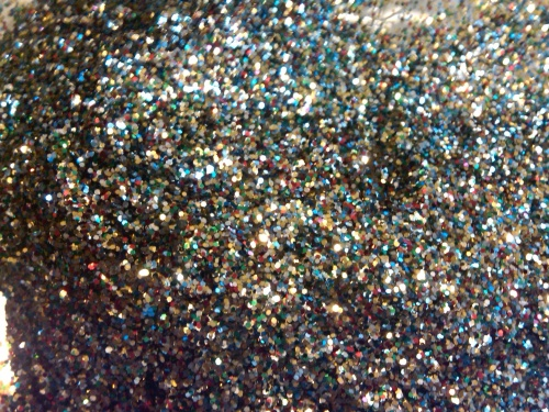 Remain calm, this is only a picture of glitter. Breathe deeply, it's okay....